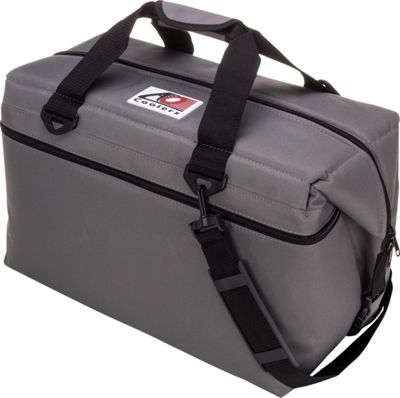 AO Coolers 36 Pack Canvas Soft Cooler Charcoal - AO Coolers Outdoor Coolers