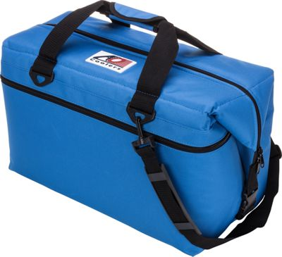 AO Coolers 36 Pack Canvas Soft Cooler Royal Blue - AO Coolers Outdoor Coolers