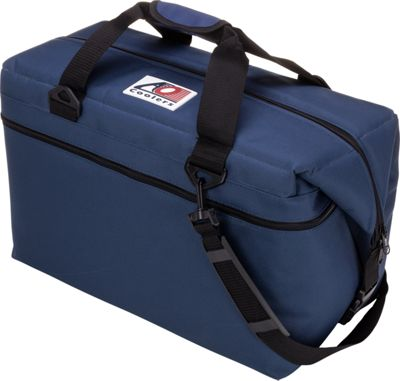 AO Coolers 36 Pack Canvas Soft Cooler Navy Blue - AO Coolers Outdoor Coolers