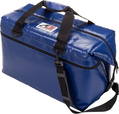 AO Coolers 36 Pack Vinyl Soft Cooler Royal Blue - AO Coolers Outdoor Coolers