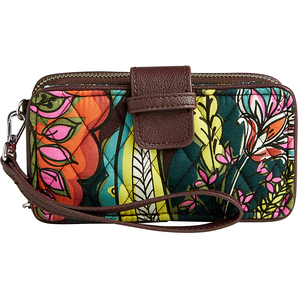 Vera Bradley RFID Smartphone Wristlet Autumn Leaves - Vera Bradley Womens Wallets - Women's SLG, Women's Wallets