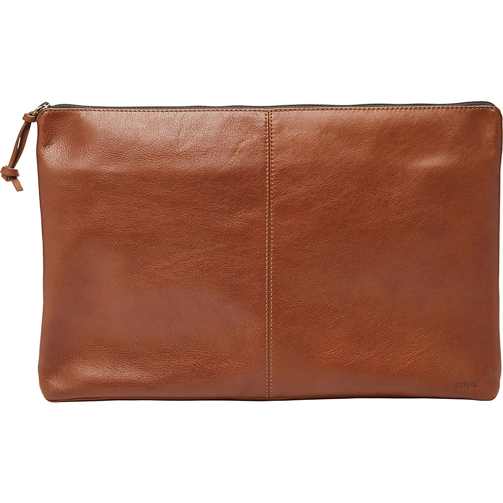 Fossil Large Laptop Case Cognac - Fossil Non-Wheeled Business Cases - Work Bags & Briefcases, Non-Wheeled Business Cases
