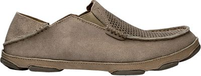 OluKai Mens Moloa Kohana Slip-On 10.5 - Clay/Clay - OluKai Men's Footwear