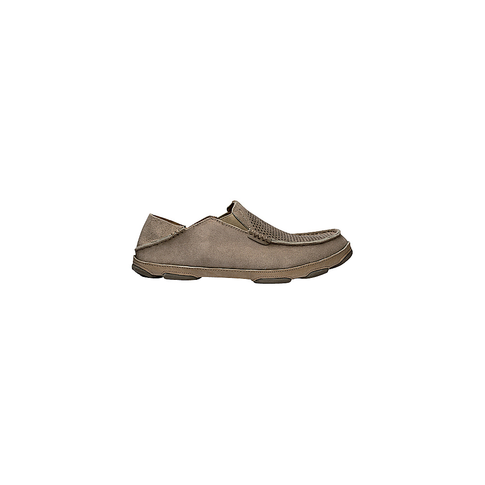 OluKai Mens Moloa Kohana Slip-On 11 - Clay/Clay - OluKai Mens Footwear - Apparel & Footwear, Men's Footwear