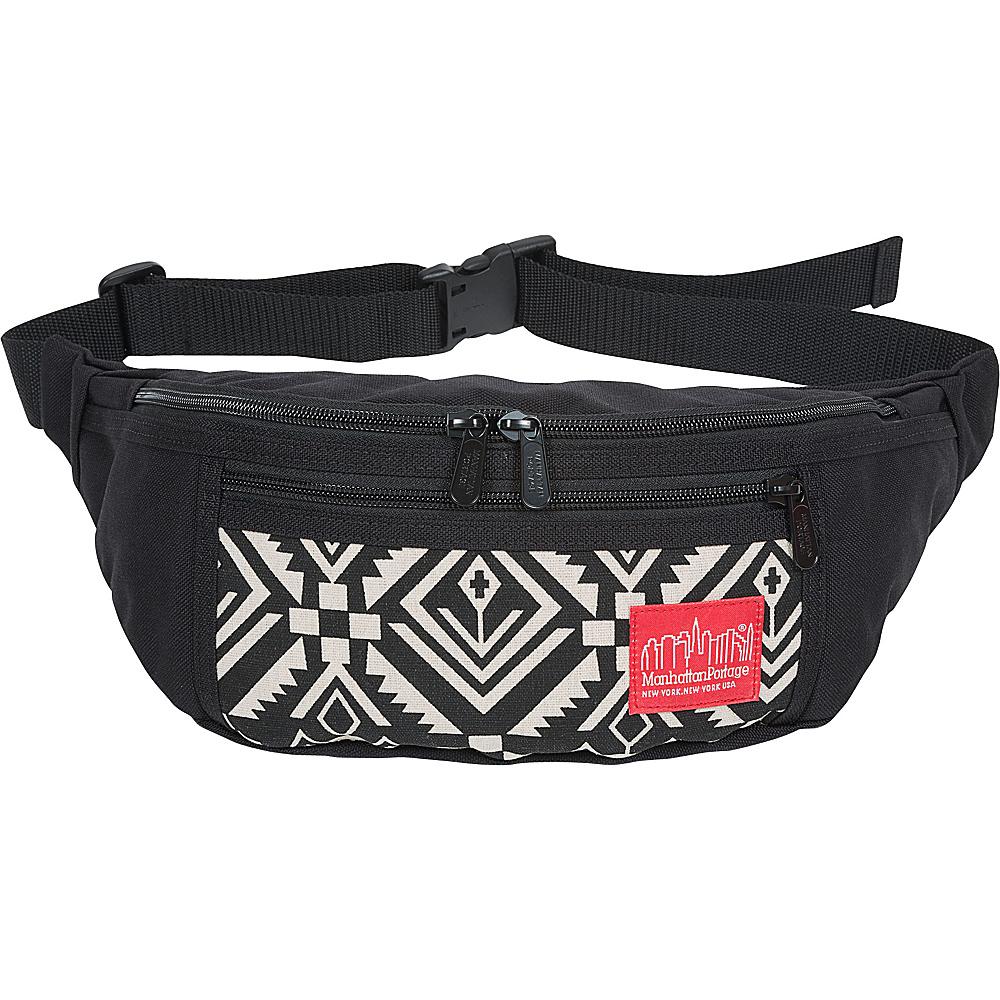 Manhattan Portage Totem Alleycat Waist Bag Black - Manhattan Portage Waist Packs - Backpacks, Waist Packs