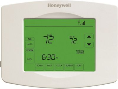 Honeywell Wi-Fi 7 Day Programmable Touchscreen Thermostat White - Honeywell Smart Home Automation