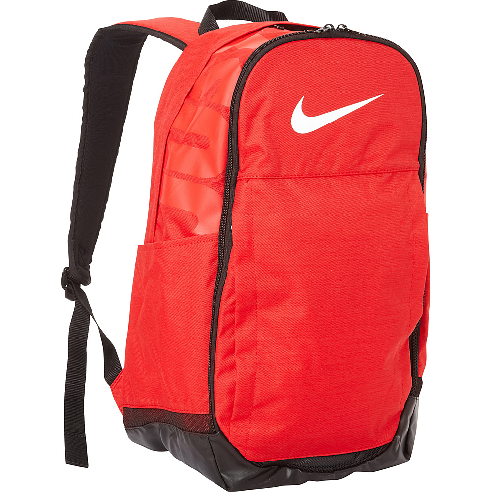 Nike Brasilia 7 XL Laptop Backpack University Red Black White Nike Business Laptop Backpacks