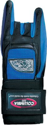 Columbia 300 Bags Pro Wrist Glove Blue Bowling Glove Right Small - Columbia 300 Bags Sports Accessories