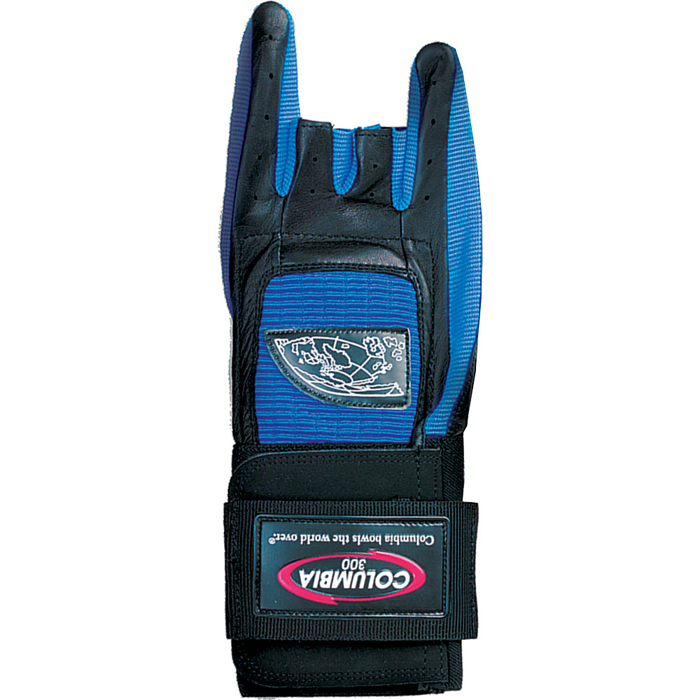 Columbia 300 Bags Pro Wrist Glove Blue Bowling Glove Left X Large Columbia 300 Bags Sports Accessories