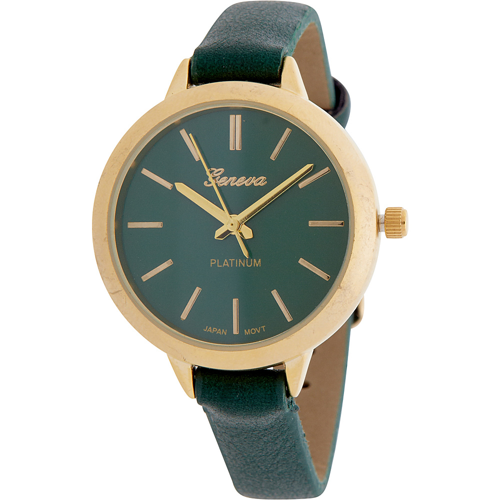 Samoe Round Matte Finish Watch Green Samoe Watches