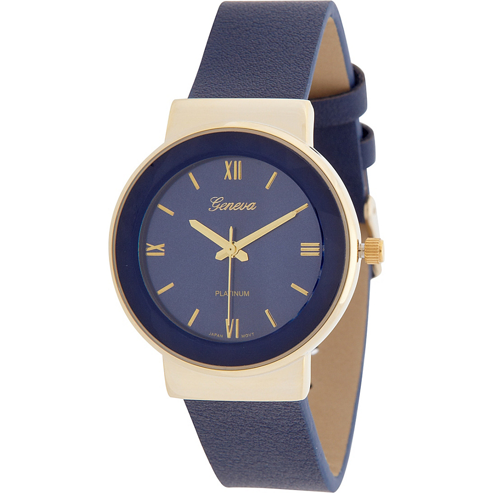 Samoe Round Watch Navy Samoe Watches