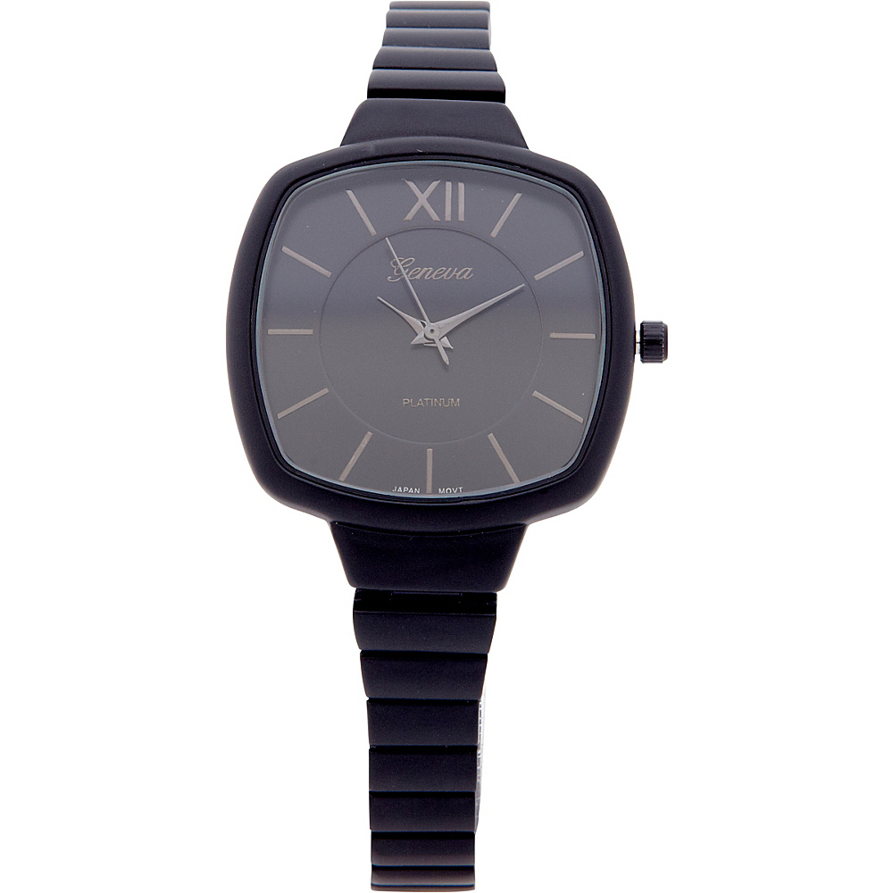 Samoe Matte Finish Square Bracelet Watch Matte Black Samoe Watches