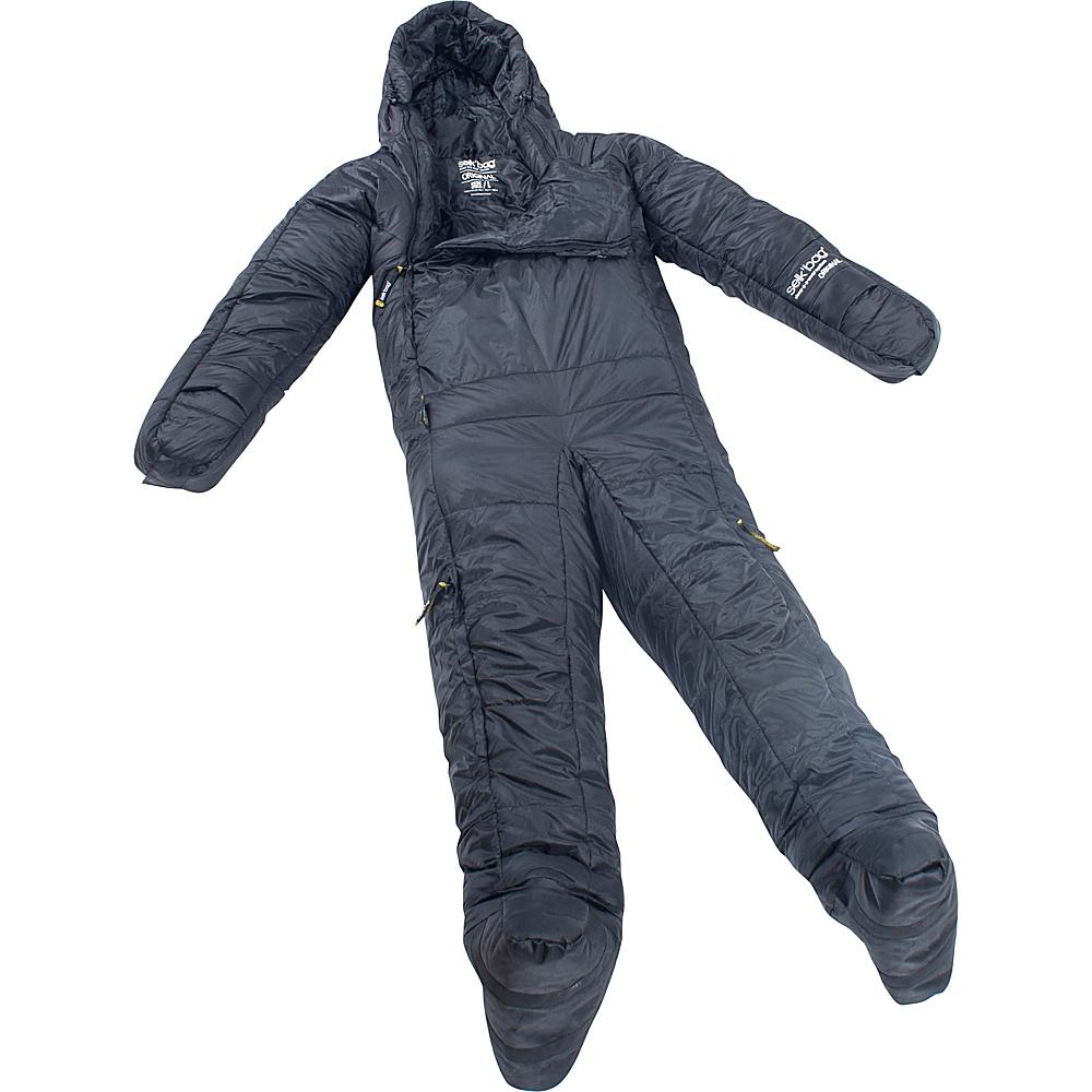 Selk bag Adult Original 5G Wearable Sleeping Bag Black Cave Medium Selk bag Outdoor Accessories