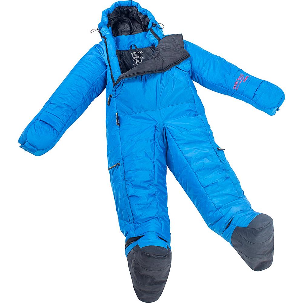 Selk bag Adult Original 5G Wearable Sleeping Bag Rain Drop Medium Selk bag Outdoor Accessories