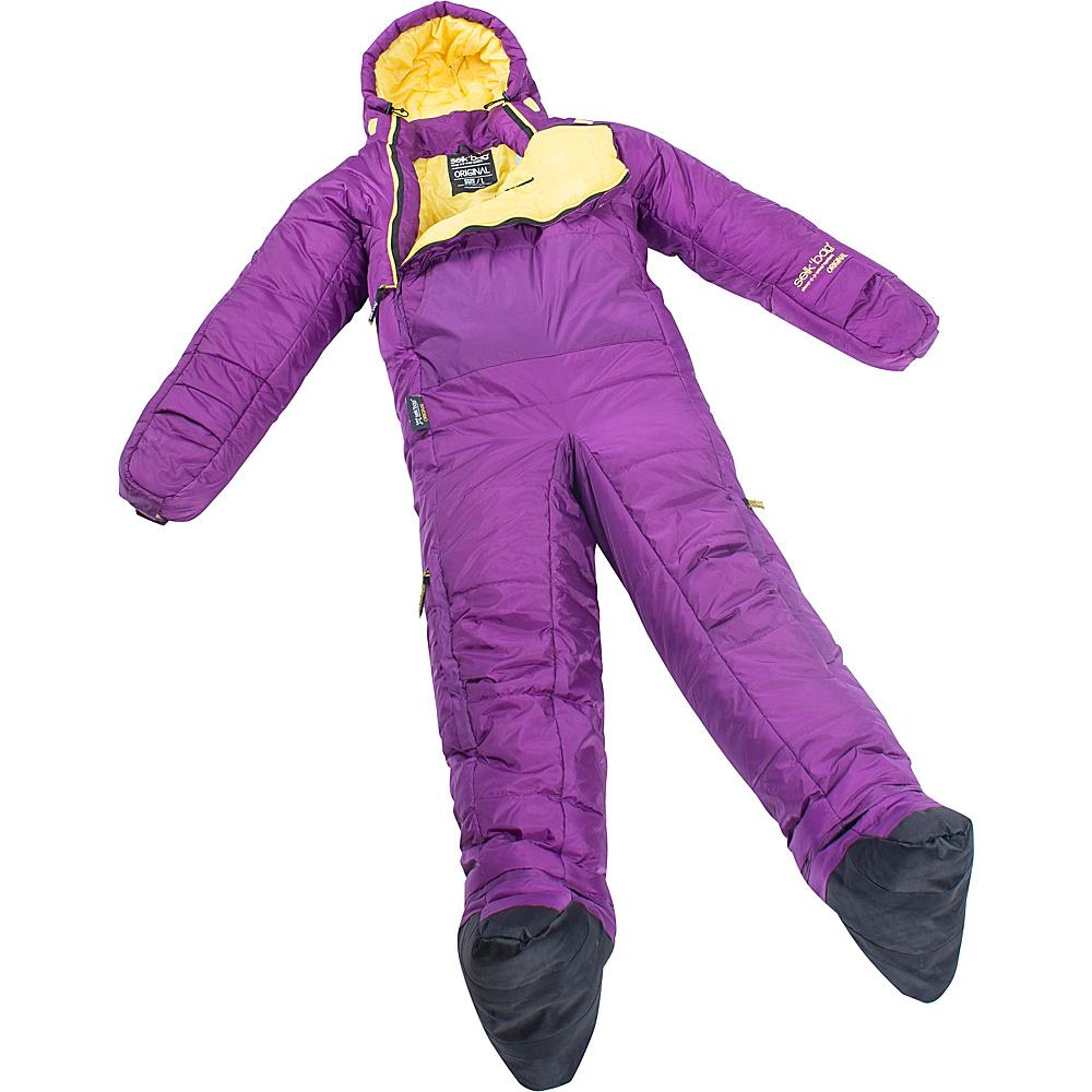 Selk bag Adult Original 5G Wearable Sleeping Bag Purple Haze Large Selk bag Outdoor Accessories