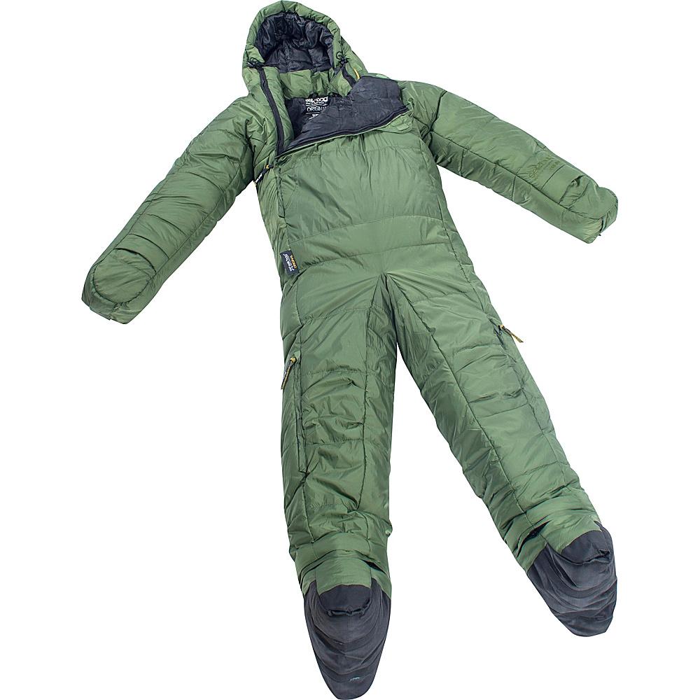 Selk bag Adult Original 5G Wearable Sleeping Bag Evergreen Large Selk bag Outdoor Accessories