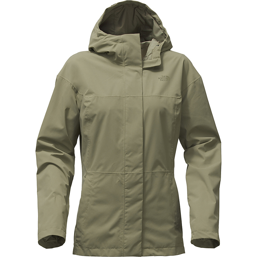 The North Face Womens Folding Travel Jacket L - Deep Lichen Green - The North Face Womens Apparel - Apparel & Footwear, Women's Apparel