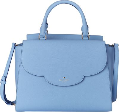 kate spade new york Leewood Place Makayla Satchel Soundview Blue - kate spade new york Designer Handbags