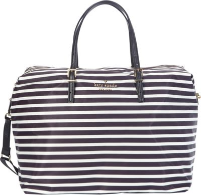 kate spade new york Watson Lane Lyla Satchel Black/Clotted Cream - kate spade new york Designer Handbags