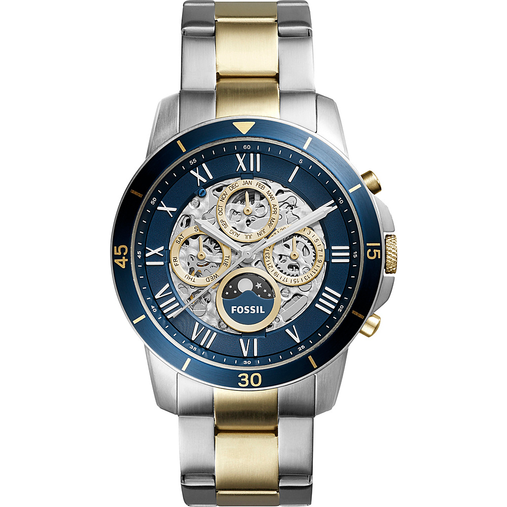 Fossil Grant Automatic Watch Silver - Fossil Watches - Fashion Accessories, Watches