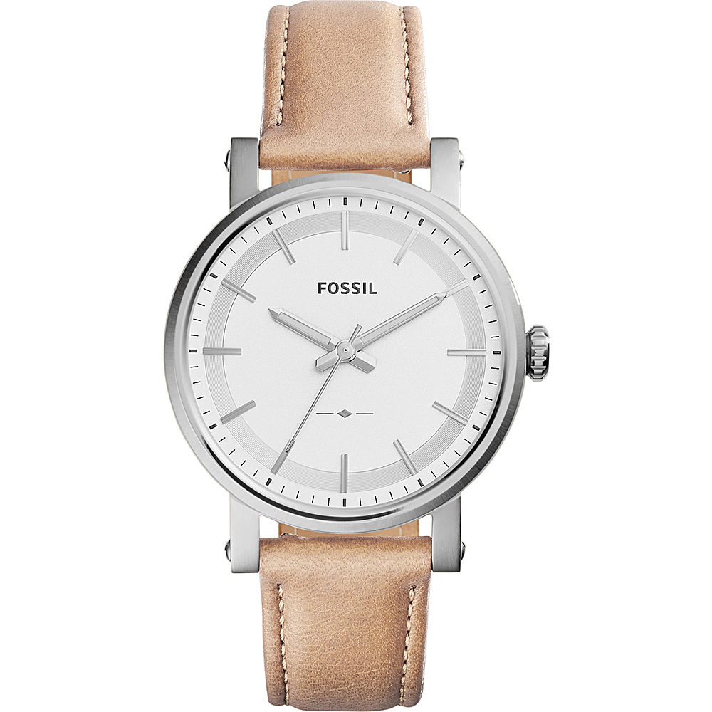 Fossil Original Boyfriend 3-Hand Leather Watch Light Brown - Fossil Watches - Fashion Accessories, Watches