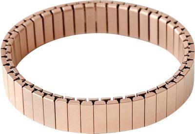 Rilee & Lo Stacking Bracelet for the Apple Watch - Satin - M/L Rose Gold - Rilee & Lo Wearable Technology