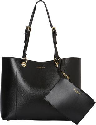 Tignanello Inside Out Double Sided Tote Black/Black - Tignanello Leather Handbags