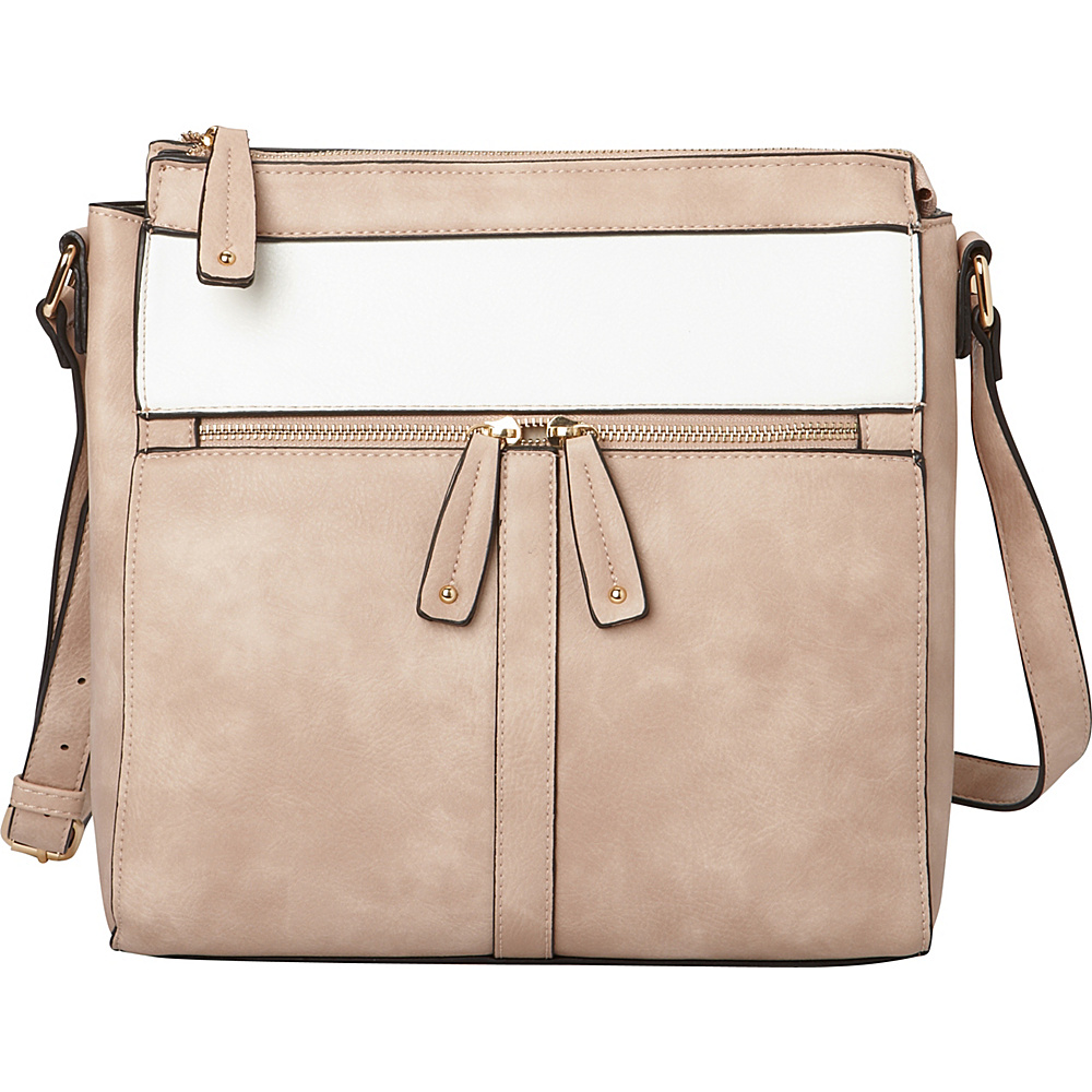 Hush Puppies Cassale Crossbody Blush White Hush Puppies Travel Duffels