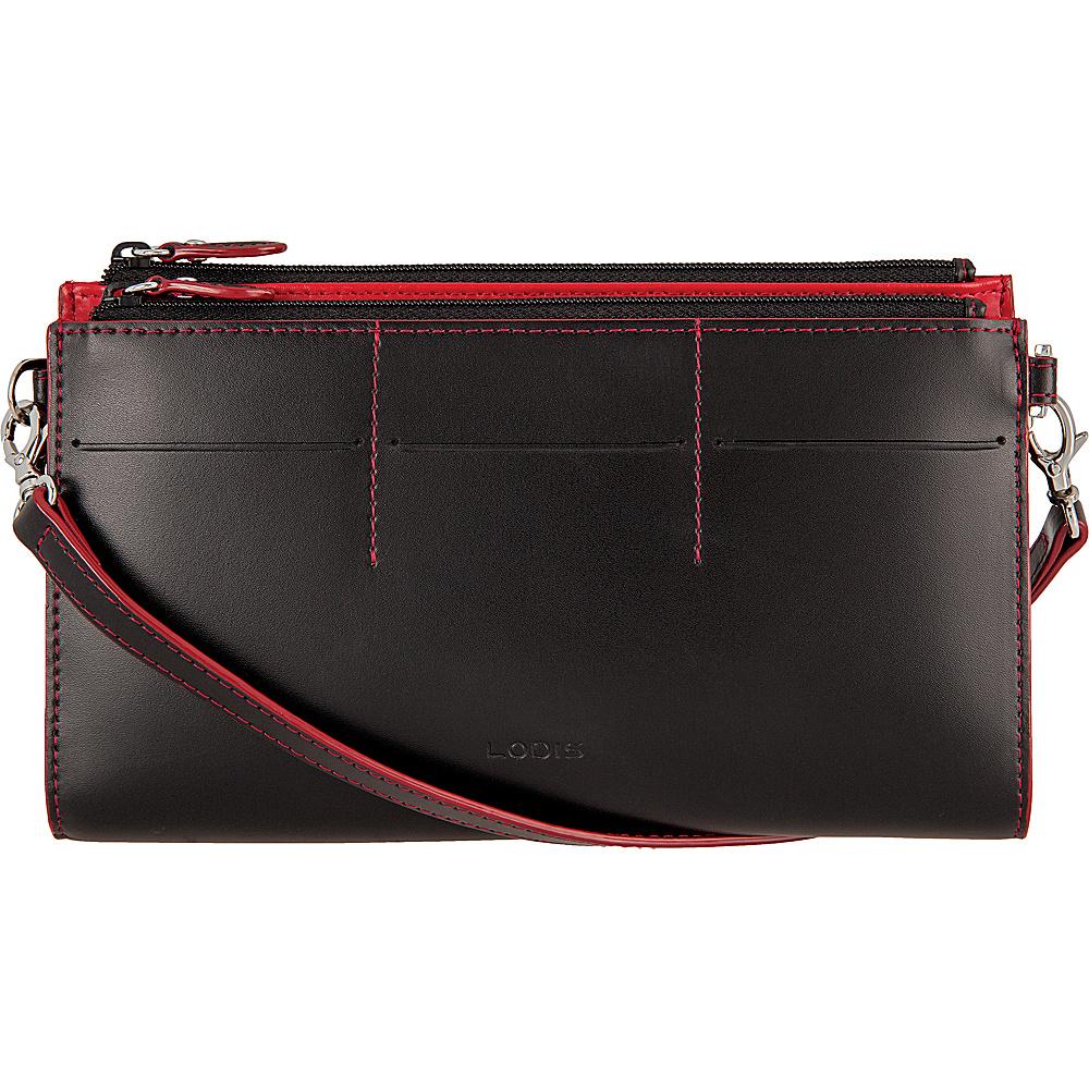 Lodis Audrey Fairen Clutch Crossbody Black - Lodis Leather Handbags - Handbags, Leather Handbags