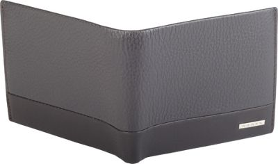 Cross Mens Leather Bifold Coin Wallet Coffee - Cross Men's Wallets