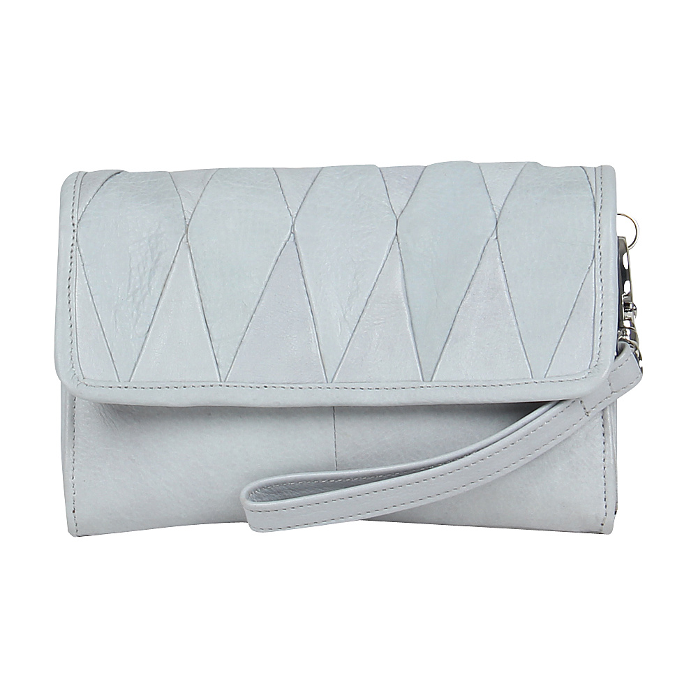 Day Mood Hale Clutch Steel Day Mood Leather Handbags