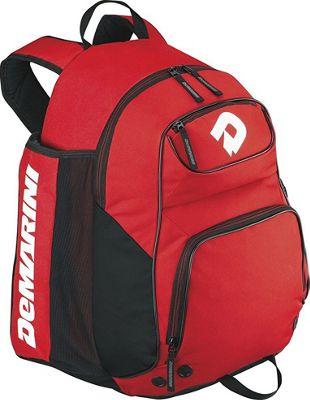DeMarini DeMarini Aftermath Backpack Red - DeMarini Gym Bags