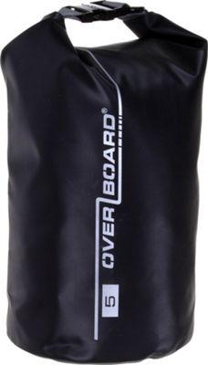 Roc Gear 5L Waterproof Dry Tube Bag Black - Roc Gear Outdoor Accessories