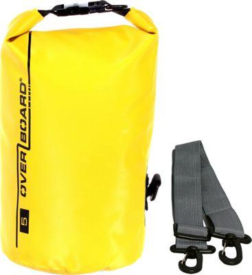 Roc Gear 5L Waterproof Dry Tube Bag Yellow - Roc Gear Outdoor Accessories