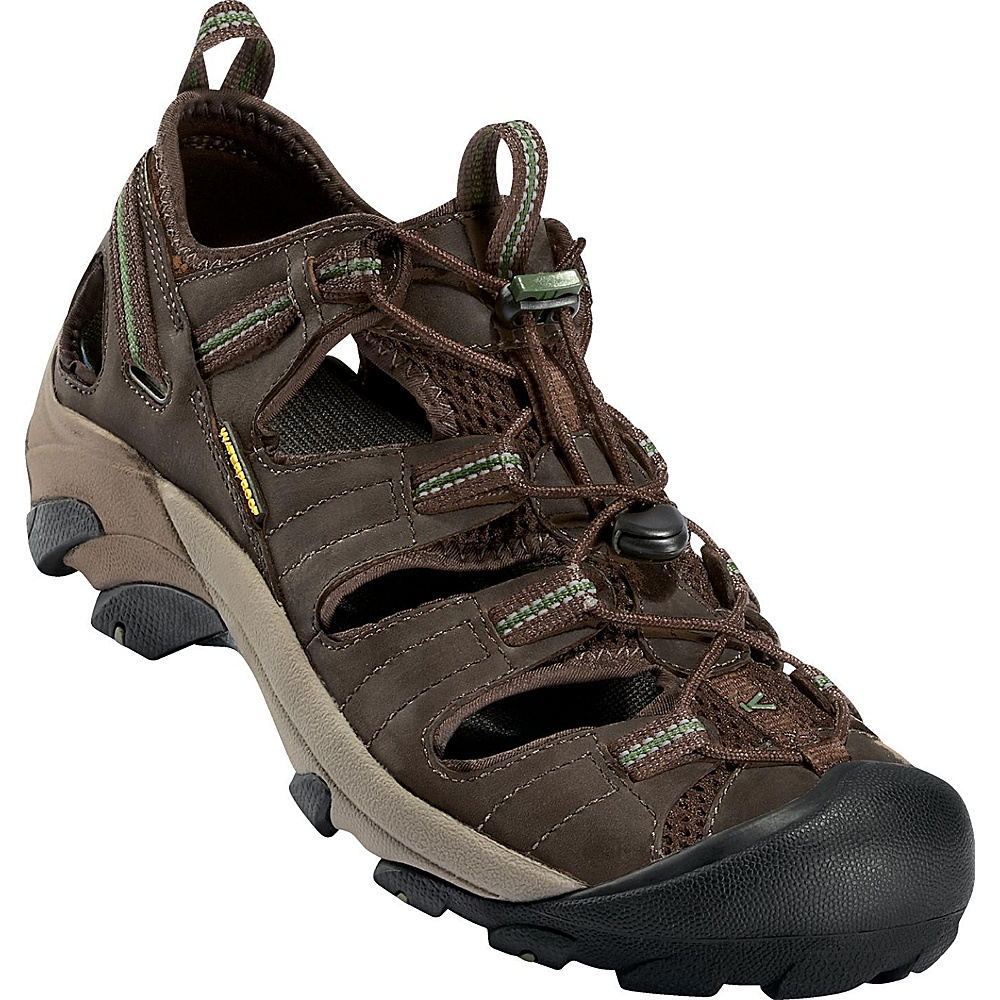 KEEN Mens Arroyo ll Sandal 10.5 - Slate Black / Bronze Green - KEEN Mens Footwear - Apparel & Footwear, Men's Footwear