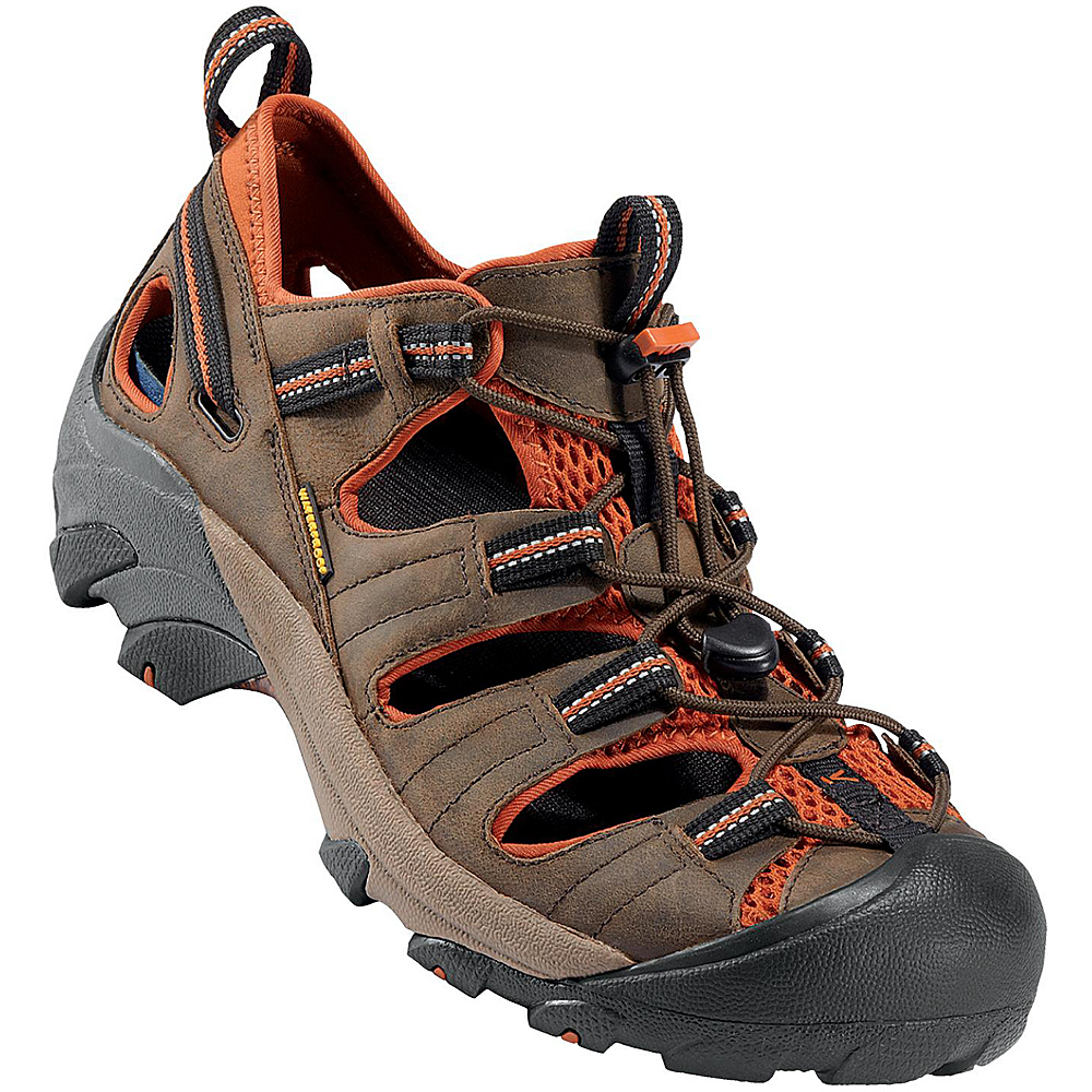KEEN Mens Arroyo ll Sandal 9 - Black Olive/Bombay Brown - KEEN Mens Footwear - Apparel & Footwear, Men's Footwear