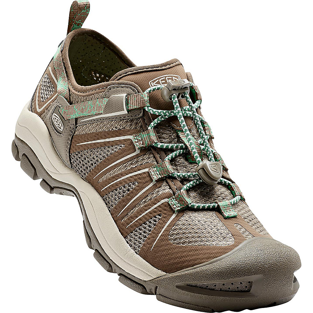 KEEN Womens Mckenzie II Sandal 5 - Canteen/Malachite - KEEN Womens Footwear - Apparel & Footwear, Women's Footwear