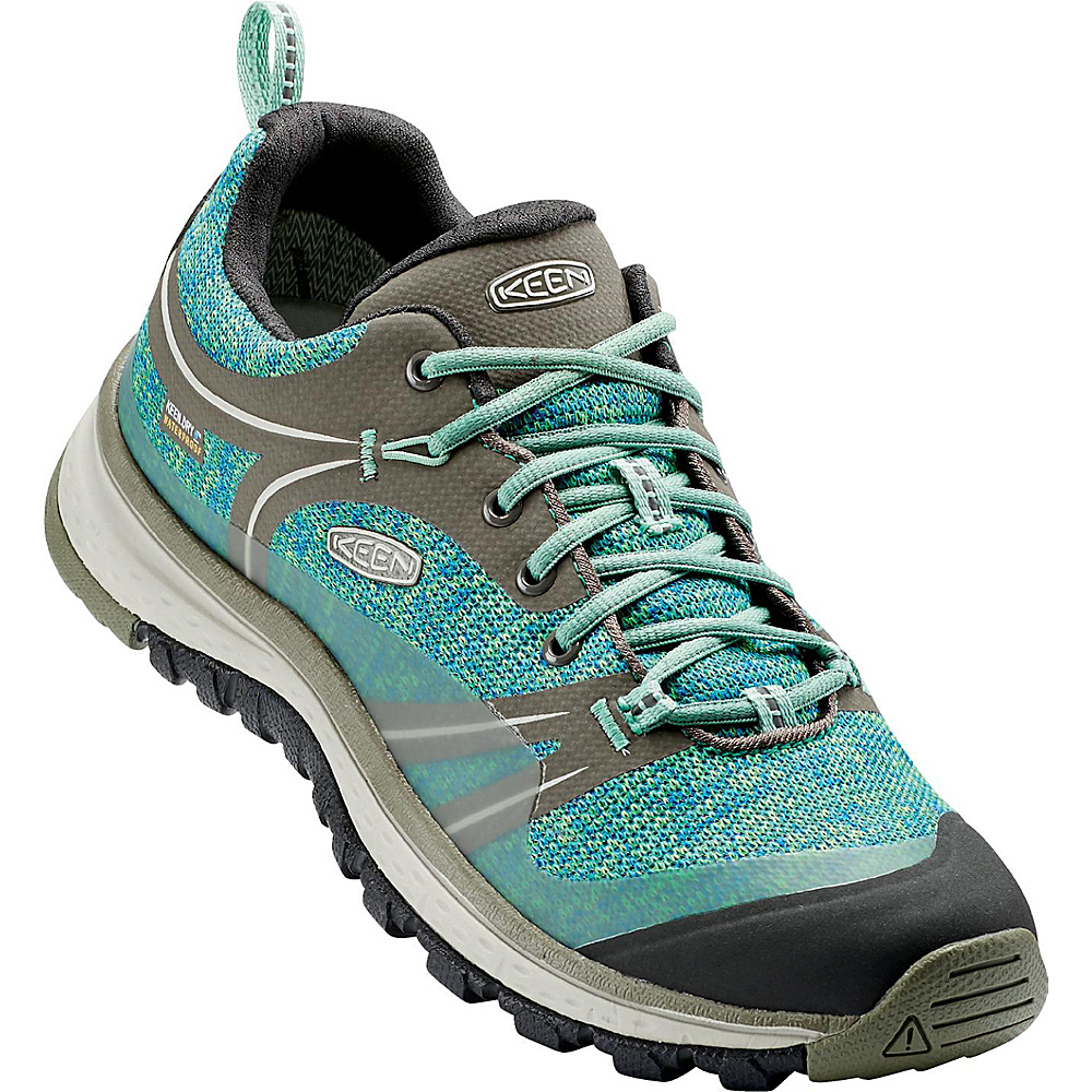 KEEN Womens Terradora Waterproof Boot 8 - Bungee Cord/Malachite - KEEN Womens Footwear - Apparel & Footwear, Women's Footwear