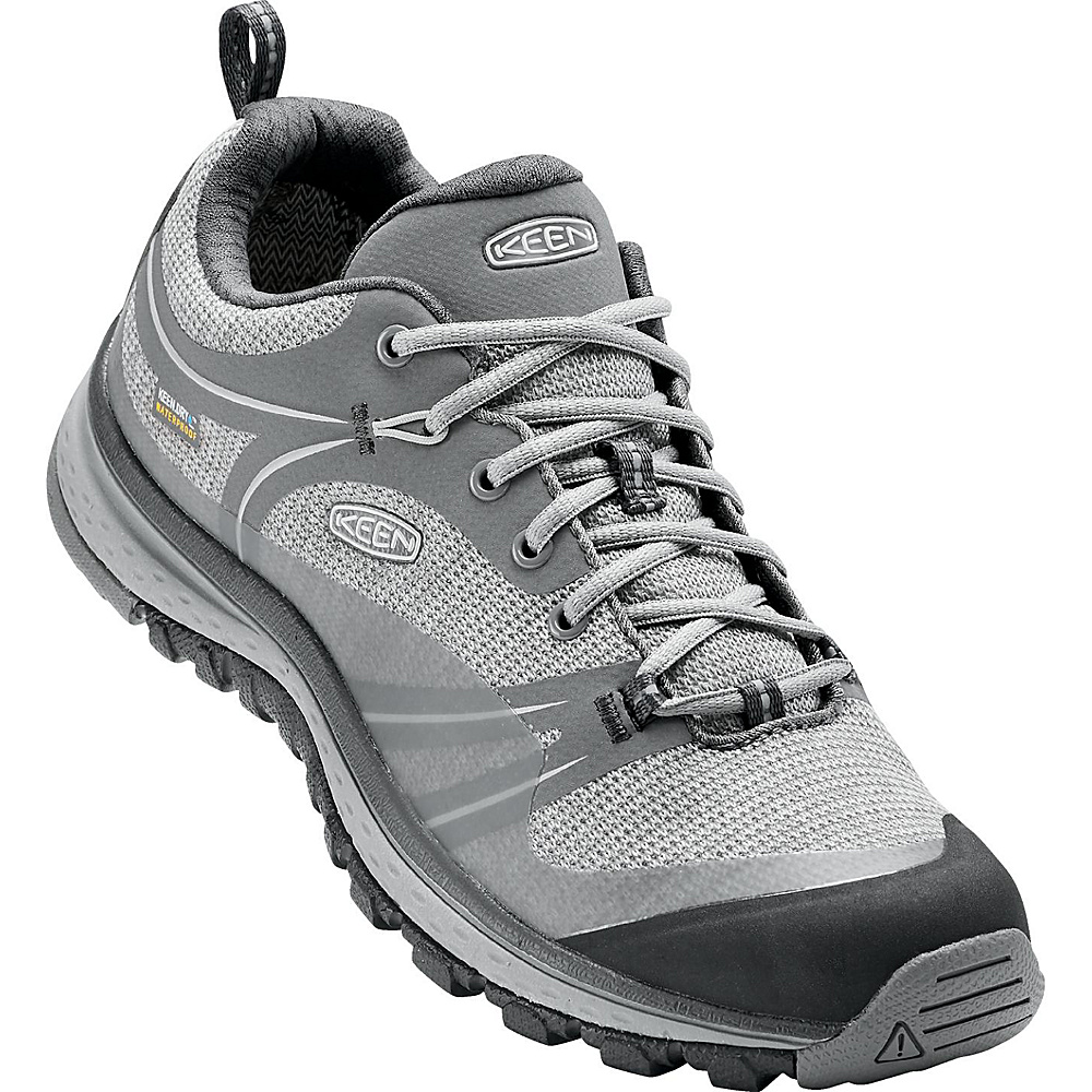 KEEN Womens Terradora Waterproof Boot 9.5 - Neutral Grey / Gargoyle - KEEN Womens Footwear - Apparel & Footwear, Women's Footwear