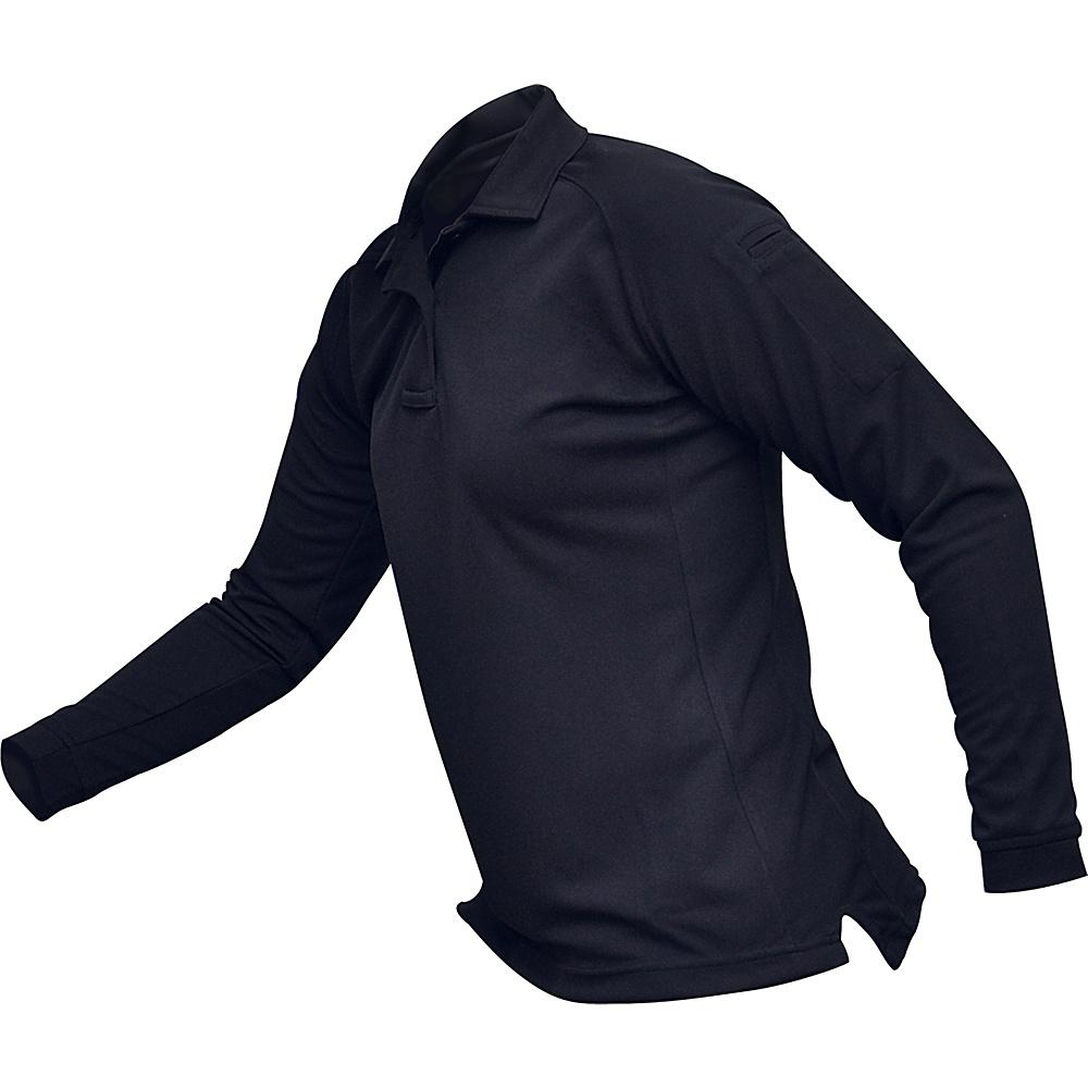 Vertx Womens Coldblack Long Sleeve Polo XL - Navy - Vertx Womens Apparel - Apparel & Footwear, Women's Apparel