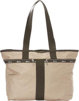 LeSportsac Street Tote Travertine C - LeSportsac Designer Handbags