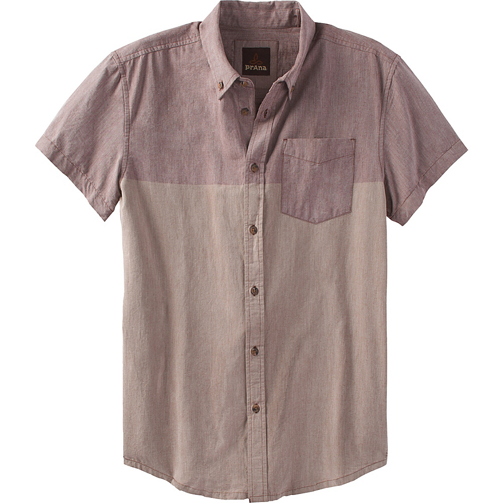 PrAna Broderick Slim Shirt XL - Raisin - PrAna Mens Apparel - Apparel & Footwear, Men's Apparel