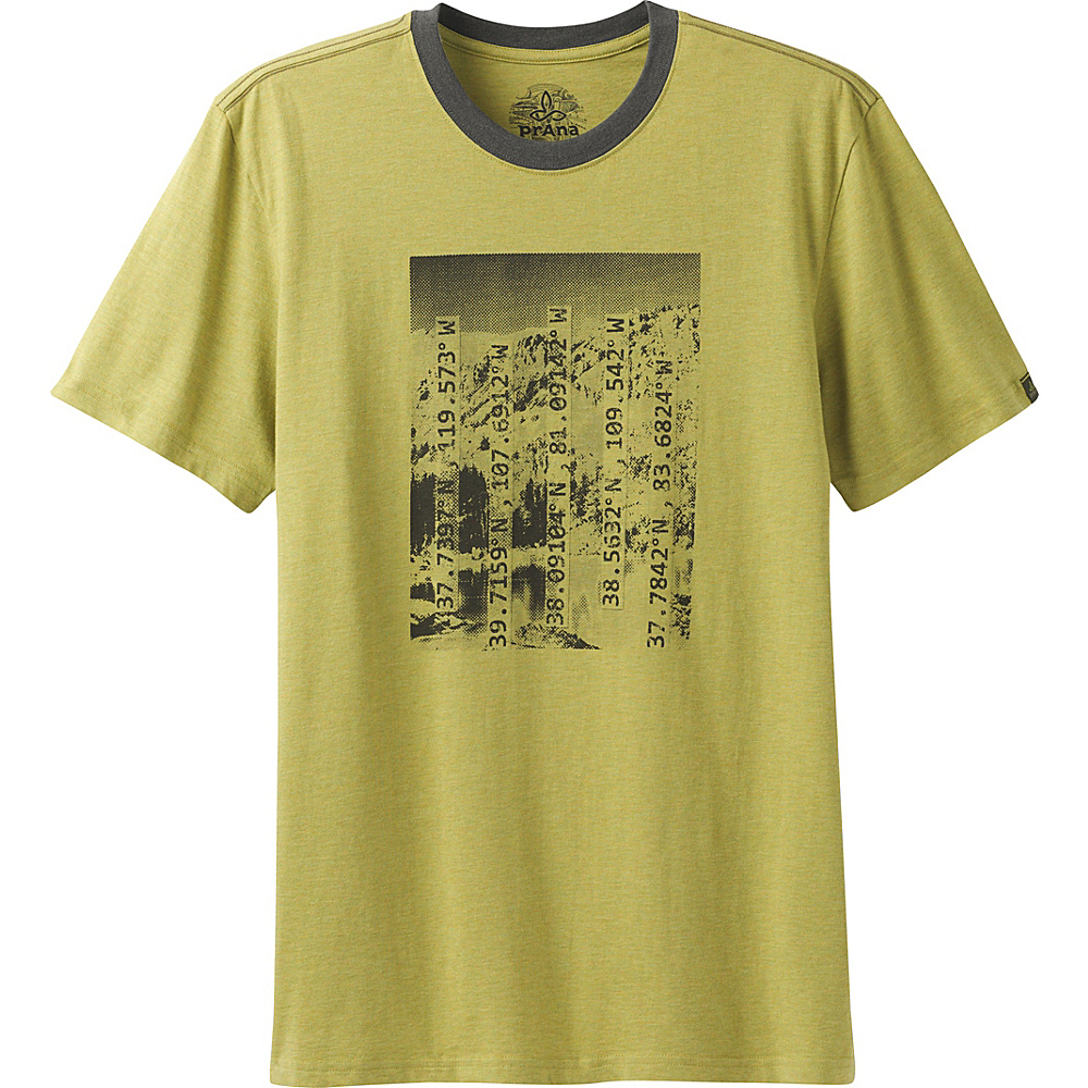 PrAna Coordinates T-Shirt S - Pear - PrAna Mens Apparel - Apparel & Footwear, Men's Apparel