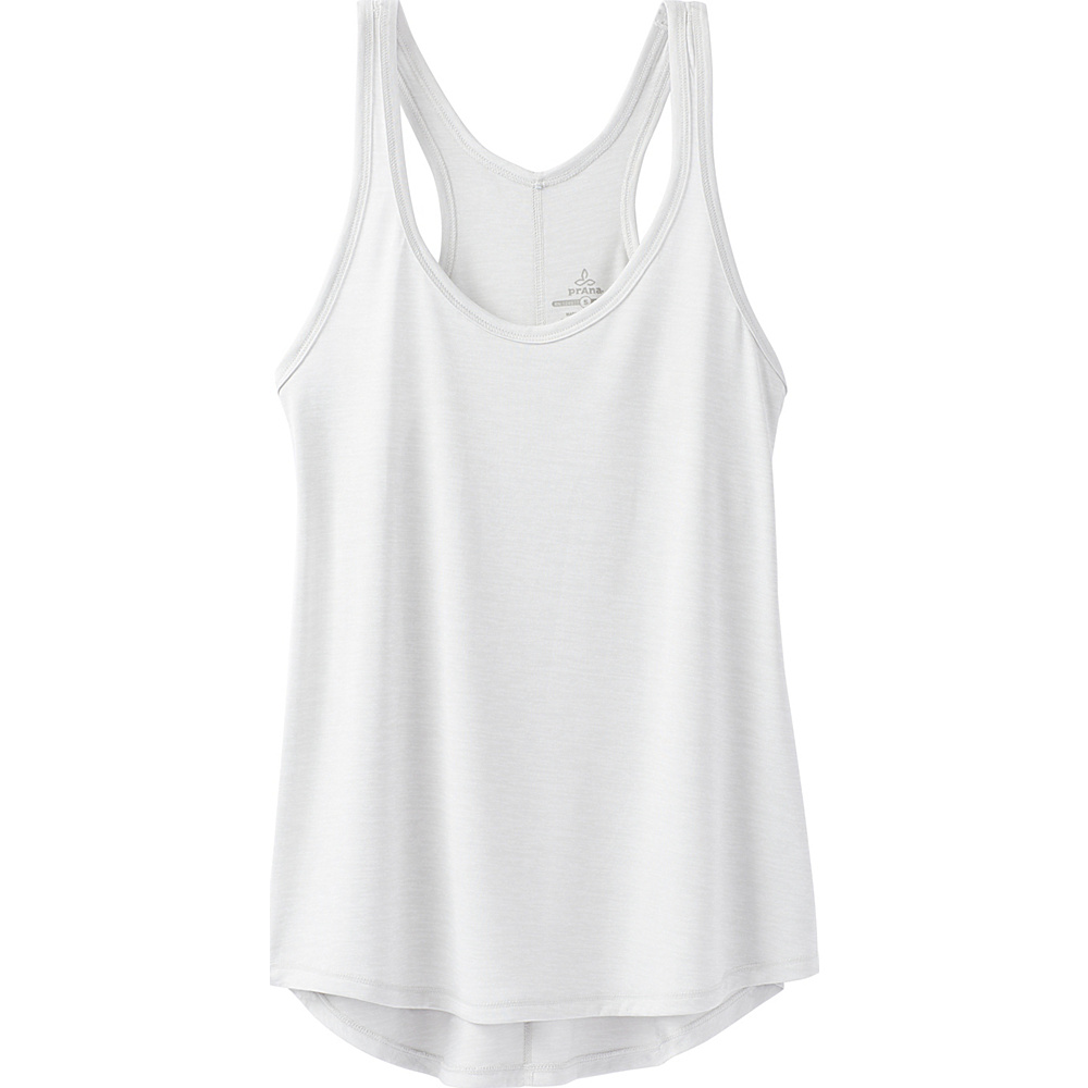 PrAna Revere Tank XL - Silver - PrAna Womens Apparel - Apparel & Footwear, Women's Apparel