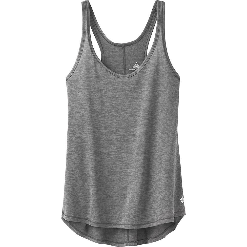 PrAna Revere Tank L - Grey - PrAna Womens Apparel - Apparel & Footwear, Women's Apparel