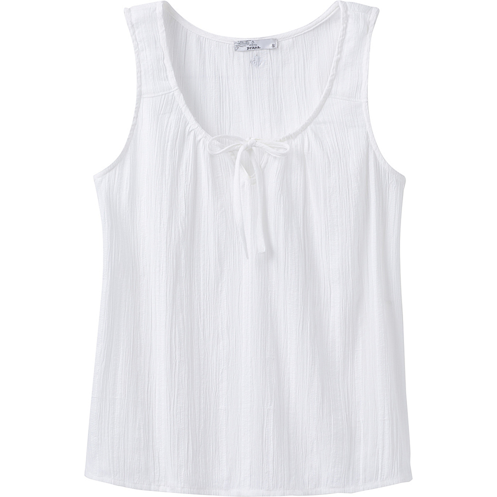 PrAna Jardin Top XL - White - PrAna Womens Apparel - Apparel & Footwear, Women's Apparel