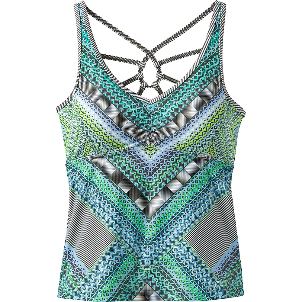PrAna Dreaming Swim Tankini XS - Emerald Riviera - PrAna Womens Apparel - Apparel & Footwear, Women's Apparel