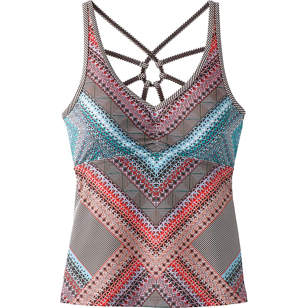 PrAna Dreaming Swim Tankini XS - Sunlit Coral Riviera - PrAna Womens Apparel - Apparel & Footwear, Women's Apparel