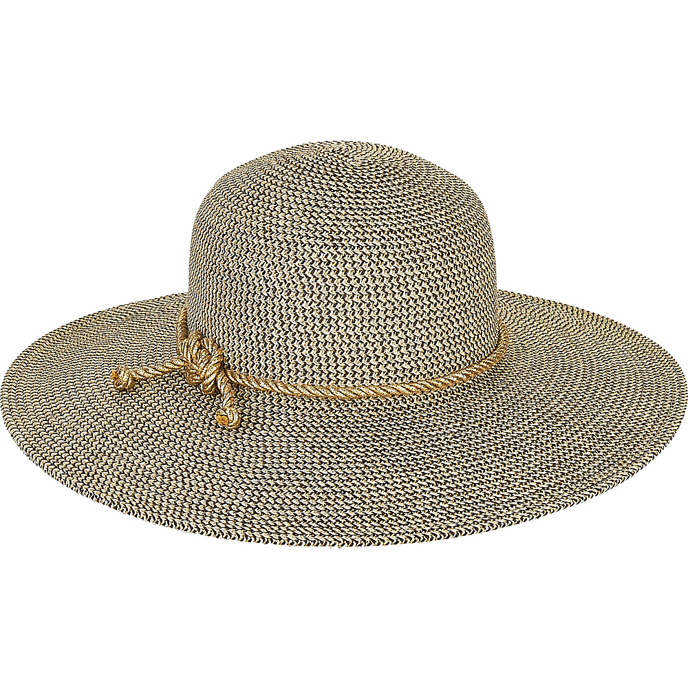 Sun N Sand Paper Braid Hat Natural - Sun N Sand Hats - Fashion Accessories, Hats