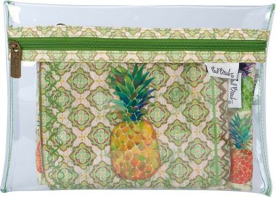 Sun 'N' Sand Paul Brent Artistic Canvas Wallet Pineapple - Sun 'N' Sand Travel Wallets